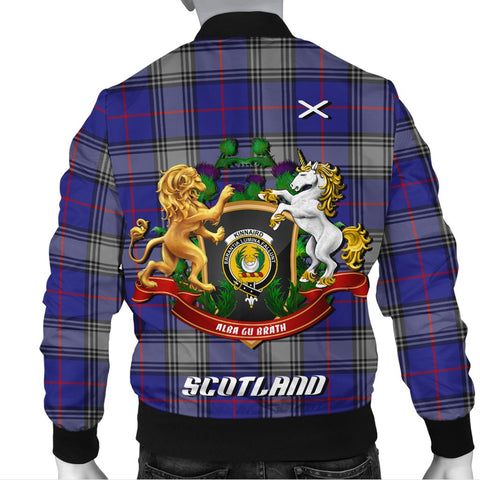 Kinnaird | Tartan Bomber Jacket | Scottish Jacket | Scotland Clothing