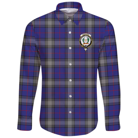 Kinnaird Tartan Clan Long Sleeve Button Shirt | Scottish Clan
