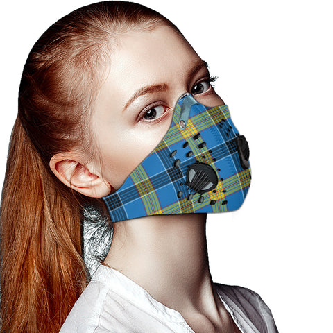 Laing Tartan Dust-proof Sports Masks ( Model 1) - TH88 (USA Shipping Line)