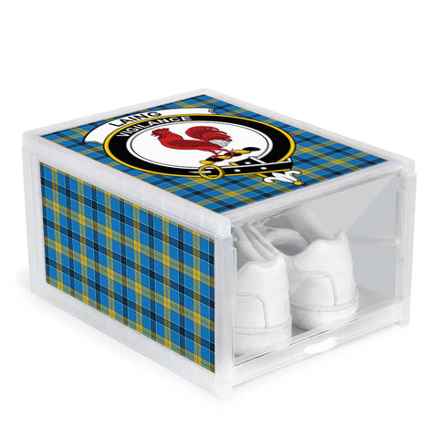 Laing Clan Crest Tartan Scottish Shoe Organizers