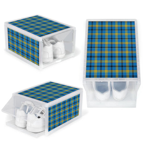 Laing Clan Tartan Scottish Shoe Organizers K9