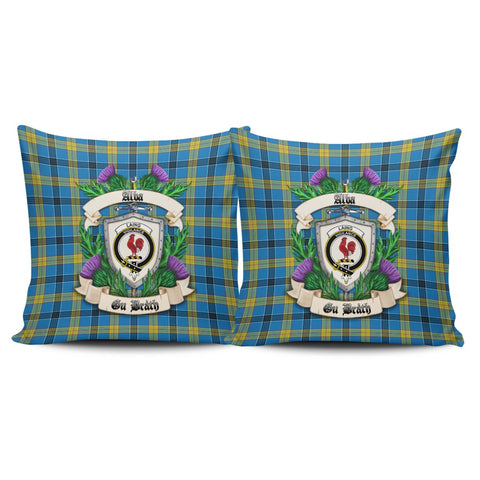 Laing Crest Tartan Pillow Cover Thistle (Set of two) A91 | Home Set