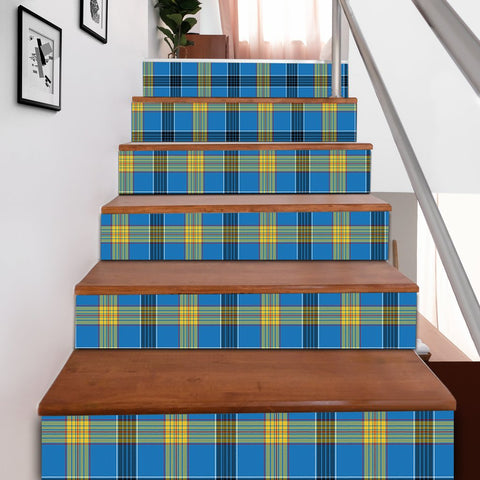 Scottishshop Tartan Stair Stickers - Laing Stair Stickers A91
