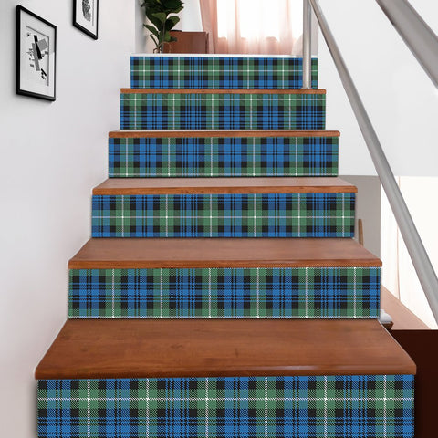 Scottishshop Tartan Stair Stickers - Lamont Ancient Stair Stickers A91