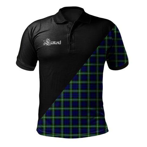 Lamont Modern Clan Military Logo Polo Shirt