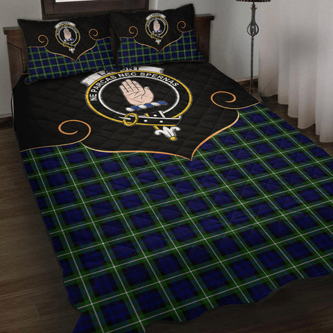 Lamont Modern Clan Cherish the Badge Quilt Bed Set