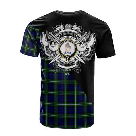 Image of Lamont Modern Clan Military Logo T-Shirt K23