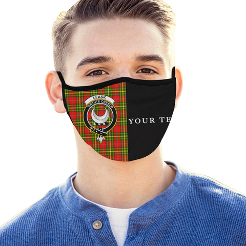 Image of Leask Tartan Mouth Mask The Half (Custom) Th88
