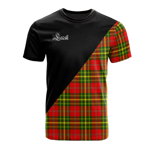 Leask Clan Military Logo T-Shirt