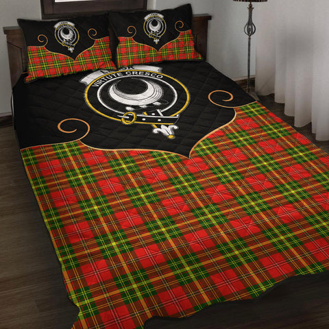 Leask Clan Cherish the Badge Quilt Bed Set