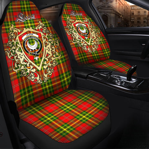 Leask Clan Car Seat Cover Royal Sheild