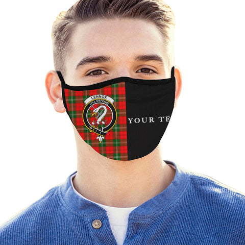 Lennox Modern Tartan Mouth Mask The Half (Custom) Th88