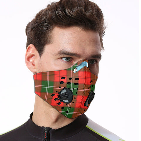 Lennox Modern Tartan Dust-proof Sports Masks ( Model 1) - TH88 (USA Shipping Line)
