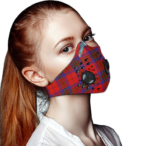 Leslie Modern Tartan Dust-proof Sports Masks ( Model 1) - TH88 (USA Shipping Line)