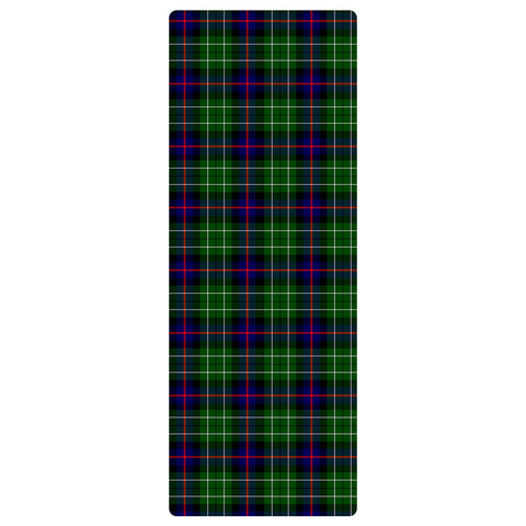Image of Leslie Hunting Clan Tartan Yoga mats