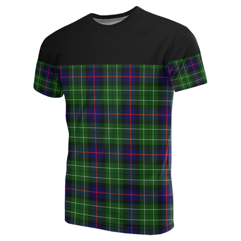 Image of Tartan Horizontal T-Shirt - Leslie Hunting