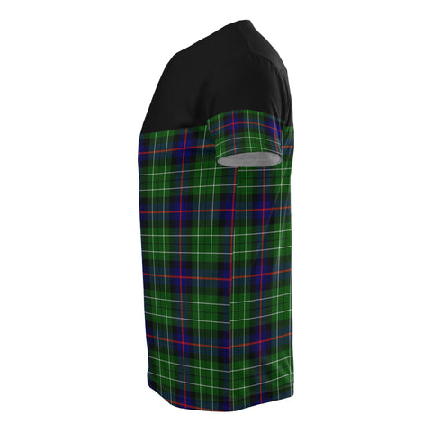 Image of Tartan Horizontal T-Shirt - Leslie Hunting - BN