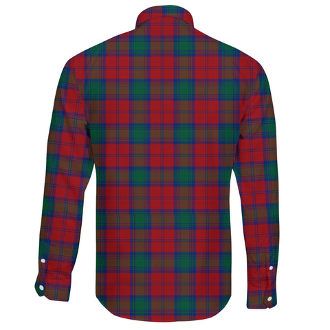 Lindsay Modern Tartan Clan Long Sleeve Button Shirt A91