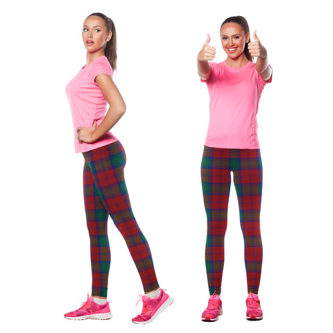 Lindsay Modern Tartan Leggings | Scottishclans.co