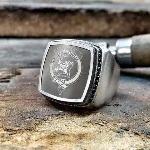 Little Crest Scottish Clan Special Silver Ring