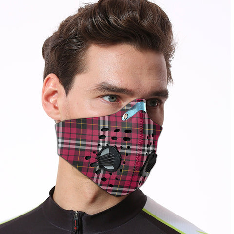 Little Tartan Dust-proof Sports Masks ( Model 1) - TH88
