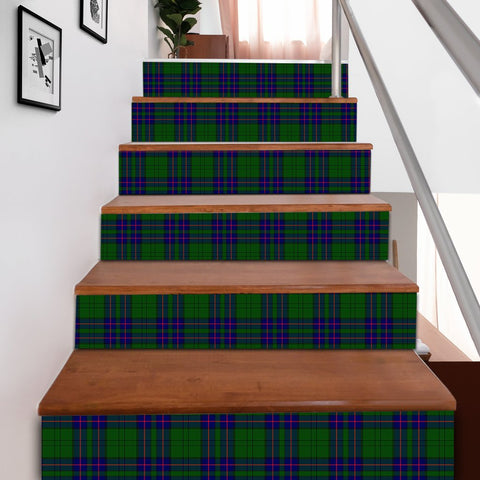 Image of Scottishshop Tartan Stair Stickers - Lockhart Stair Stickers A91