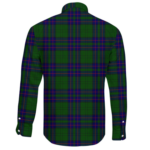 Lockhart Tartan Clan Long Sleeve Button Shirt A91