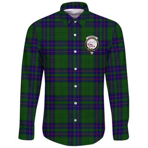Lockhart Tartan Clan Long Sleeve Button Shirt | Scottish Clan
