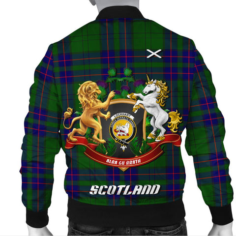 Lockhart Modern | Tartan Bomber Jacket | Scottish Jacket | Scotland Clothing