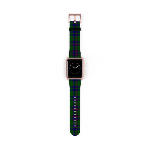 Lockhart Modern Scottish Clan Tartan Watch Band Apple Watch