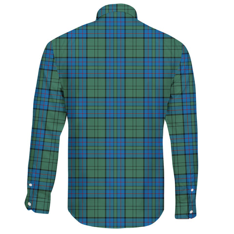 Lockhart Modern Tartan Clan Long Sleeve Button Shirt A91