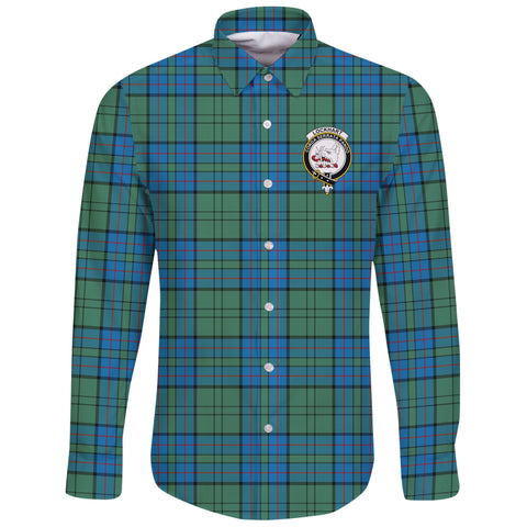 Lockhart Modern Tartan Clan Long Sleeve Button Shirt | Scottish Clan