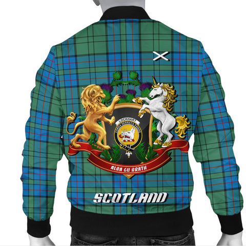 Lockhart | Tartan Bomber Jacket | Scottish Jacket | Scotland Clothing