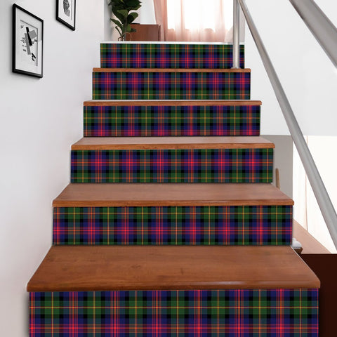 Scottishshop Tartan Stair Stickers - Logan Modern Stair Stickers A91