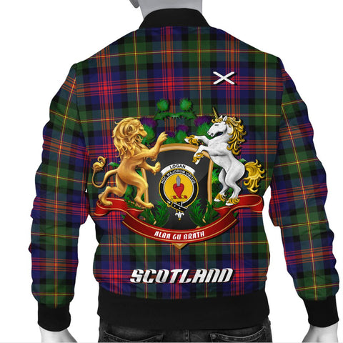 Logan Modern | Tartan Bomber Jacket | Scottish Jacket | Scotland Clothing