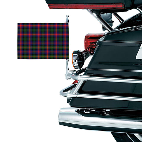 Logan Modern Clan Tartan Motorcycle Flag