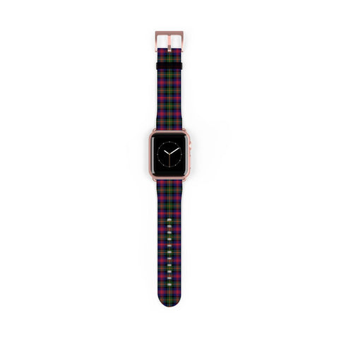 Logan Modern Scottish Clan Tartan Watch Band Apple Watch