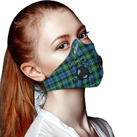 Lyon Clan Tartan Dust-proof Sports Masks ( Model 1) - TH88 (USA Shipping Line)