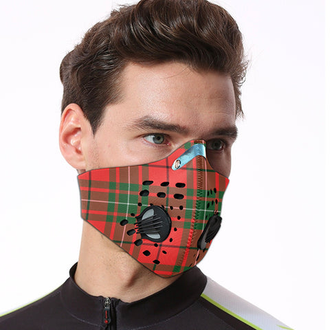 Image of MacAulay Modern Tartan Dust-proof Sports Masks ( Model 1) - TH88 (USA Shipping Line)