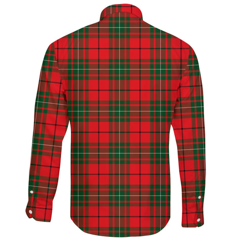 Image of MacAulay Modern Tartan Clan Long Sleeve Button Shirt A91