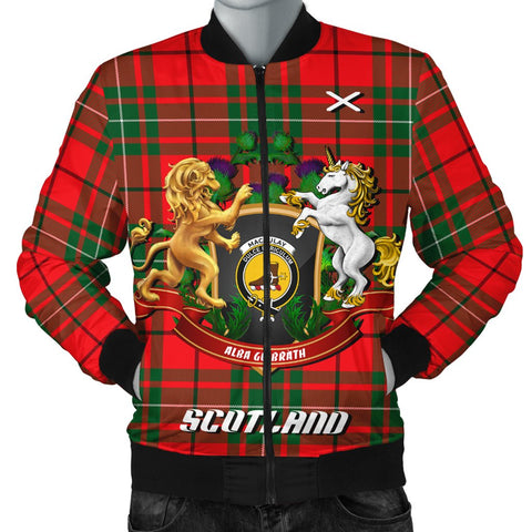 MacAulay Modern | Tartan Bomber Jacket | Scottish Jacket | Scotland Clothing