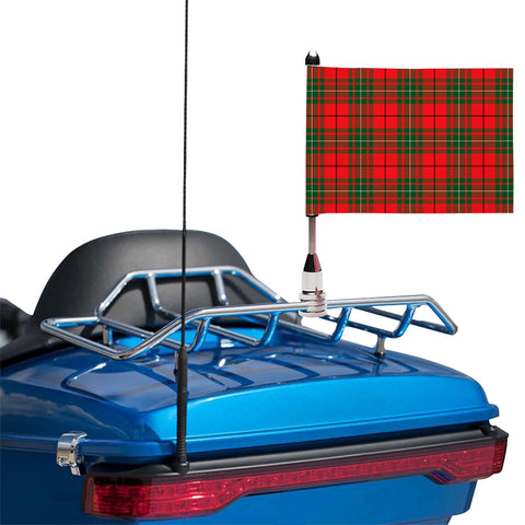 MacAulay Modern Clan Tartan Motorcycle Flag