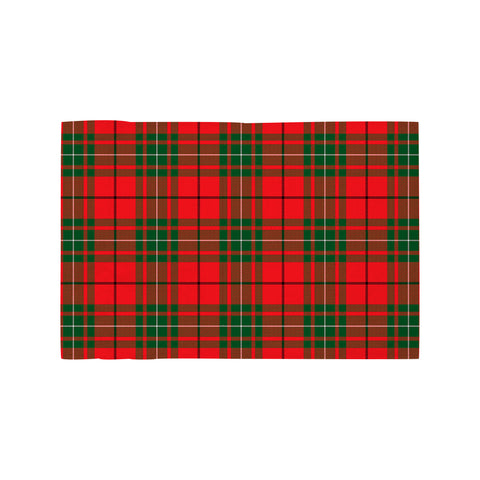 Image of MacAulay Modern Clan Tartan Motorcycle Flag