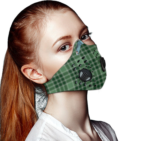 MacDonald Lord of the Isles Hunting Tartan Dust-proof Sports Masks ( Model 1) - TH88 (USA Shipping Line)