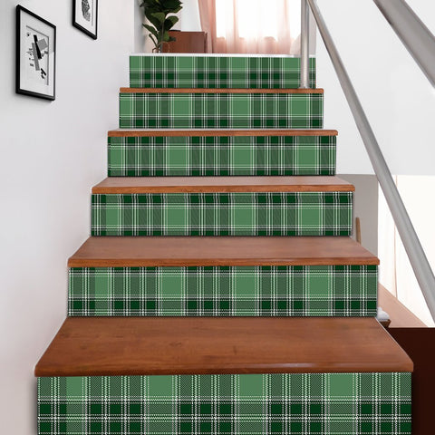 Scottishshop Tartan Stair Stickers - MacDonald Lord of the Isles Hunting Stair Stickers A91