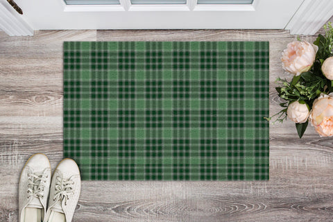 MacDonald Lord of the Isles Hunting Tartan Carpets Front Door A91