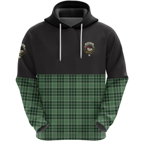 MacDonald Lord of the Isles Hunting Clan Hoodie Half Of Tartan