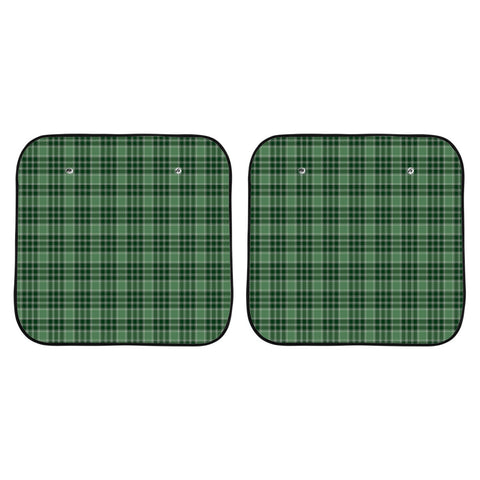 MacDonald Lord of the Isles Hunting Clan Tartan Scotland Car Sun Shade 2pcs K7