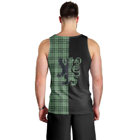 MacDonald Lord of the Isles Hunting Clan Tank Top Lion Rampant