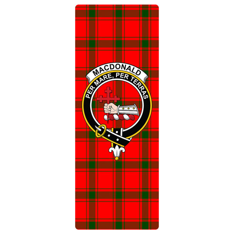 Image of MacDonald of Sleat Clan Crest Tartan Yoga mats